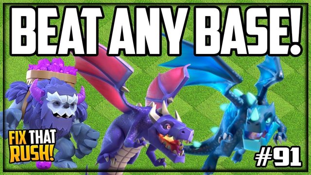 WIN With ANY ARMY? Clash of Clans Fix That Rush Episode #91