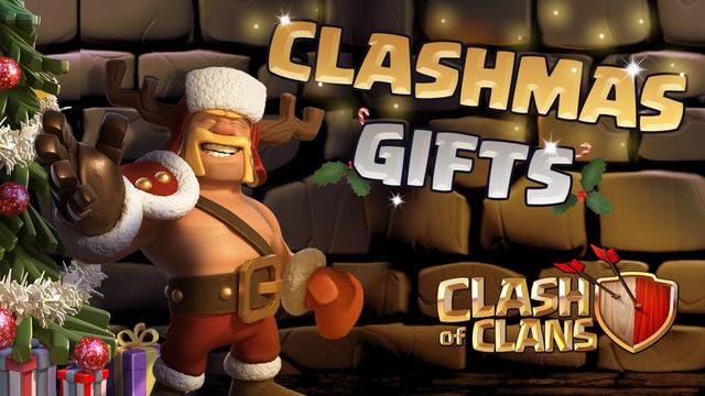 Clash of Clans: Clashmas Gifts Ho Ho Ho!