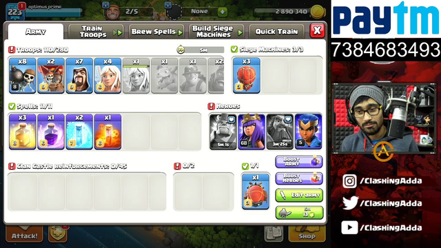 Live Clash of Clans (COC).......... long time