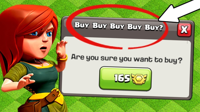 THE RAREST FEATURES IN CLASH OF CLANS! BUY BUY BUY!!