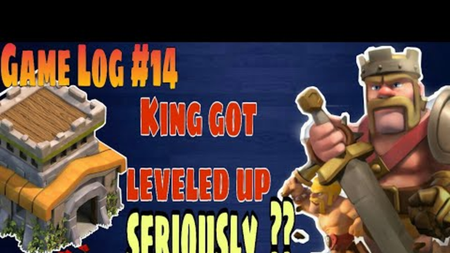 Glog14 | COC th8 | King got leveled up seriously?? | Clash of clans townhall 8