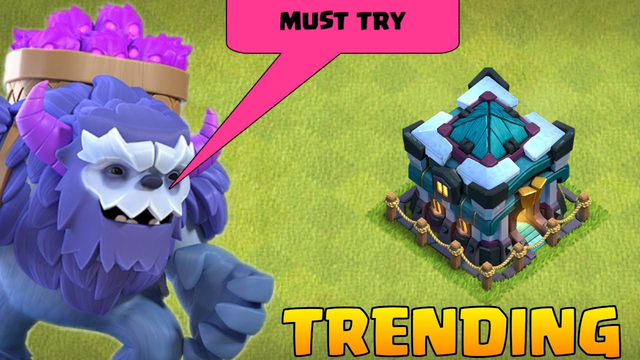Trending In Clash of clans (Yeti + Bowler + Healer) 2020 best Attacks strategy - coc