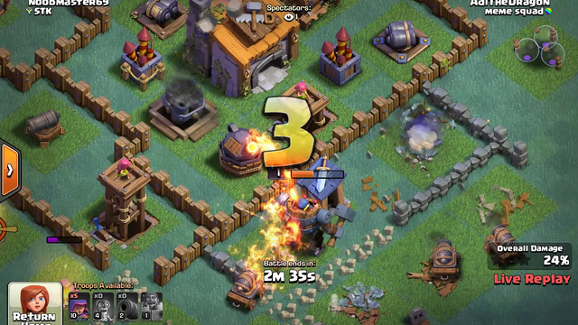 I play clash of clans