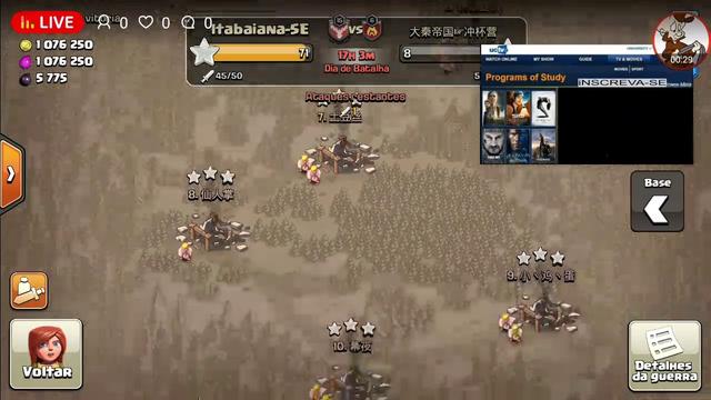 voltando a jogar clash of clans