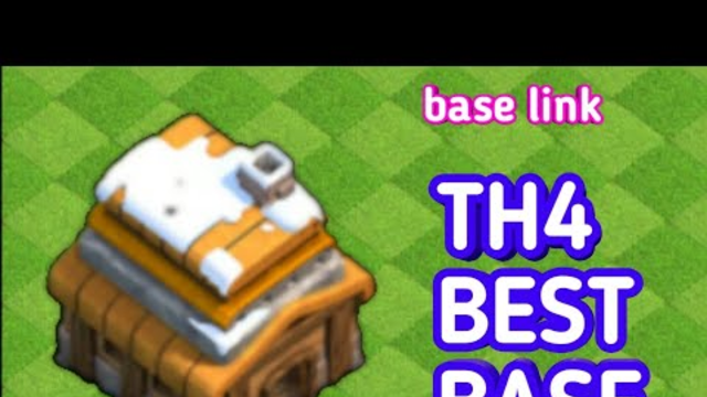 Town Hall 4 Base ] Th4 Base Layout 2020 -Clash Of Clans