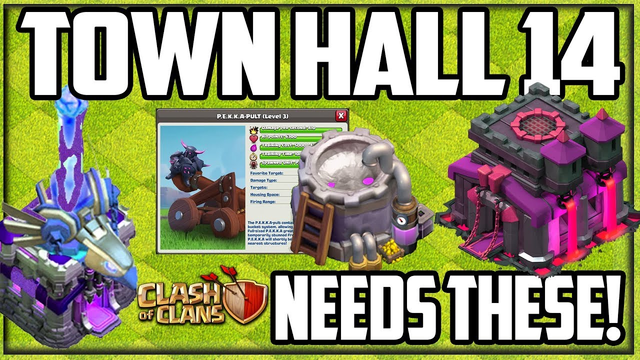 Town Hall 14 Ideas - Is Clash of Clans in Trouble?