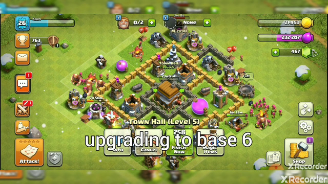 CLASH OF CLANS BEST BASE 5 DEFENCE!!