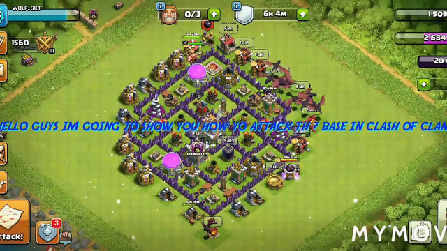 TUTORIAL HOW TO ATTACK TH 7 BASE IN CLASH OF CLANS