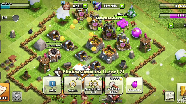 Clash of Clans/ Gegner Angreifen/TH 4