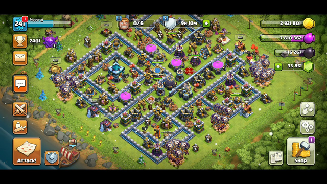 Town hall 12.5 defence against ground and air attacks - clash of clans 16 january 2020
