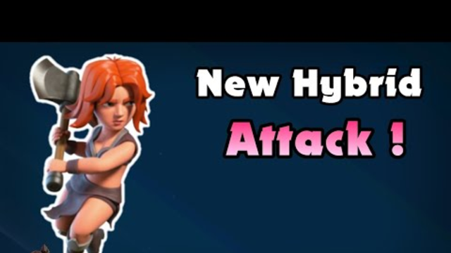 New Town Hall 10 Hybrid Attack Strategy - GoBoVaHo - Clash of Clans
