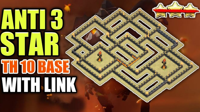 Best Th10 War Base 2020 With Link || Anti 2 Star/Undefeated Base!! || Clash Of Clans
