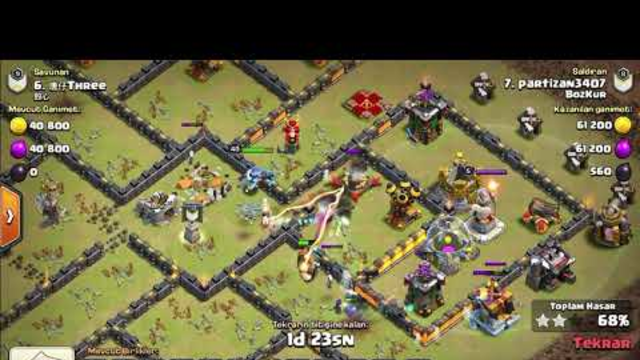 Clash of clans best TH10 attack strategy