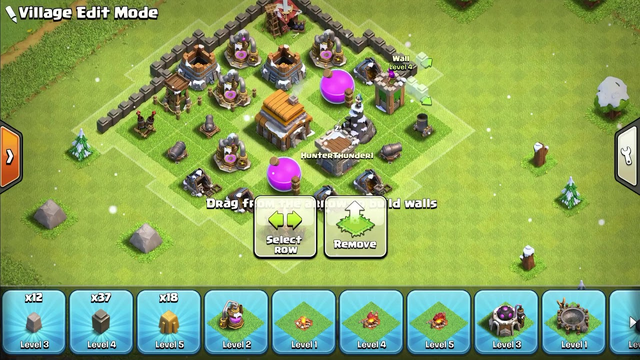 Clash Of Clans TH5 Defense Base 2020