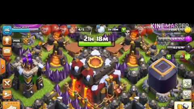 TOWN HALL10 FREE ACCOUNT OF CLASH OF CLANS!1