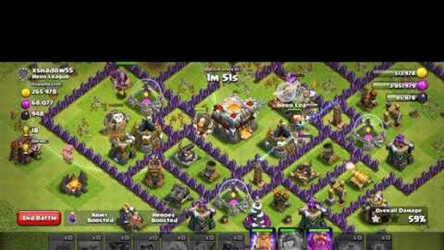 Clash of clans attack 11 town all in tamil gaming  in thalamass