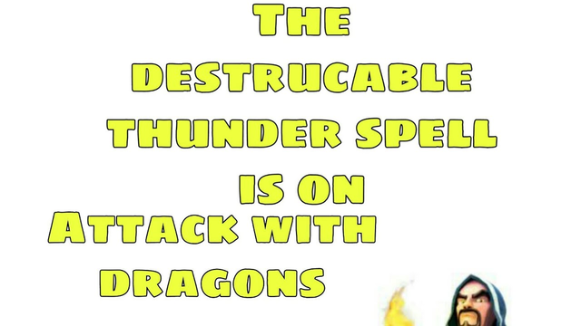 The thunder spell is alive use it//coc with umakiller37