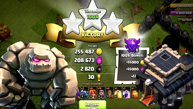 BEAT TOWN HALL 9 | 3 STAR | Clash Of Clans