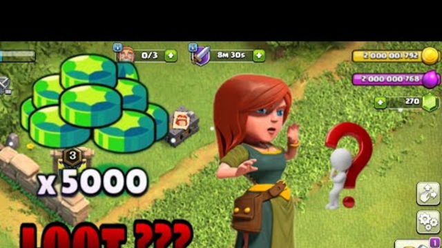 LOW LOOT CLASH OF CLANS | ROAD TO MAX EP. #2. |
