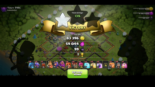 TH 12 BEST ATTACK - CLASH OF CLANS
