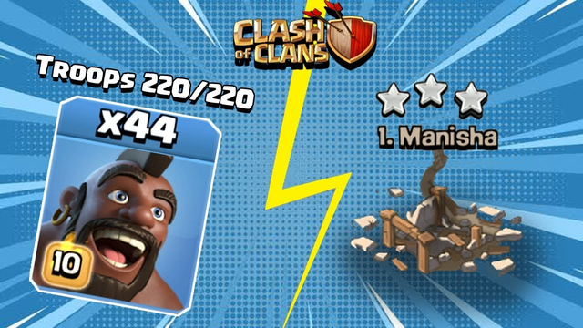 WE DID IT GUYS! 220/220 HOG WAR ATTACK | Clash of Clans - COC