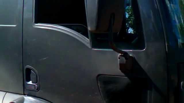 Ford Cargo do PANARO carregando coco.