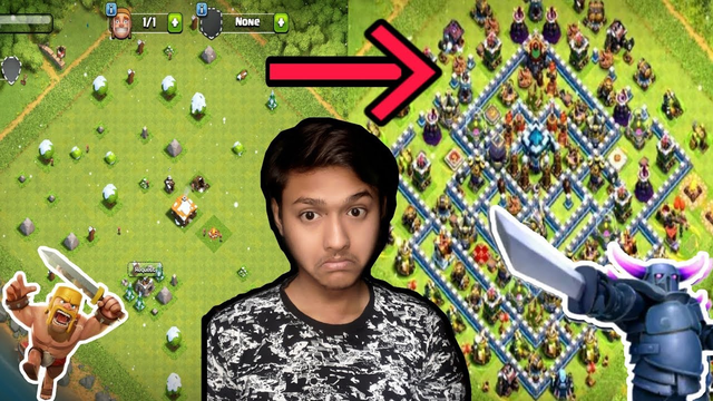 Clash of Clans Town Hall 1 to 13 step by step full update  -Rajib
