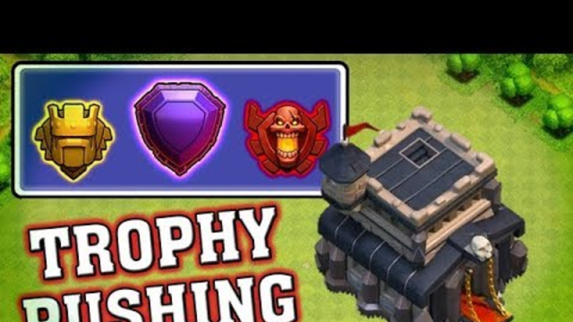 Clash of Clans Live | TH9 Trophy Pushing