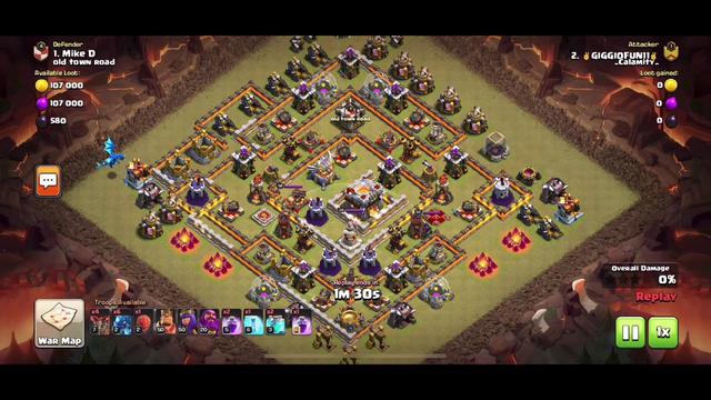 Clan war vs Th11 [Clash Of Clans]