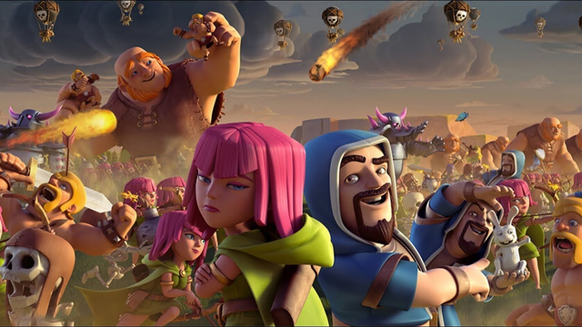 Clash of Clans neuer accountfree to play  von ganz anfang