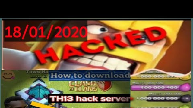    CoC Private Server   Clash of Clans Mod apk download    Latest version 2020 best mod    Th 13   