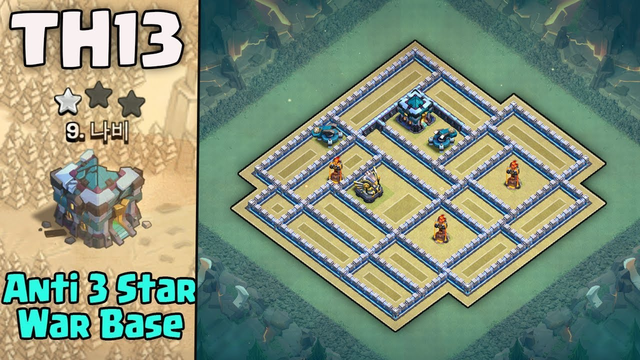 New Townhall 13 (TH13) War Base Anti 2?3 Star | Base Link With Replays (Clash of Clans) 2020