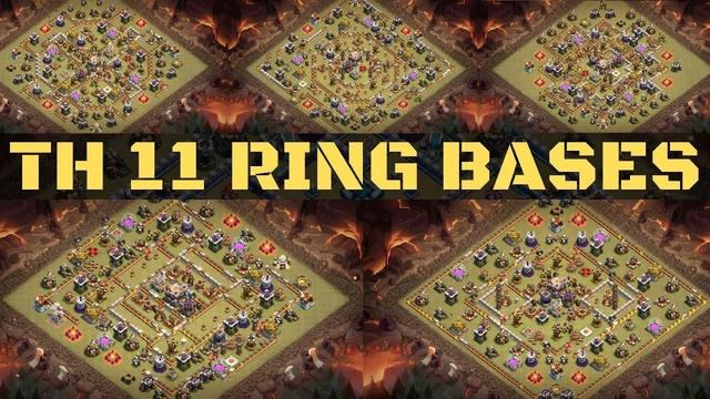 TOWN HALL 11 BASE WITH LINK ! TH 11 RING BASE WITH LINK ! Base links for town hall 11 Clash of Clans