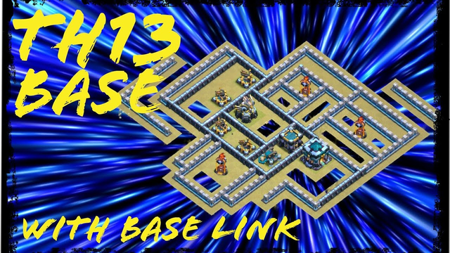 *NEW KILLER TH 13 WAR BASE* with replay | Clash of Clans