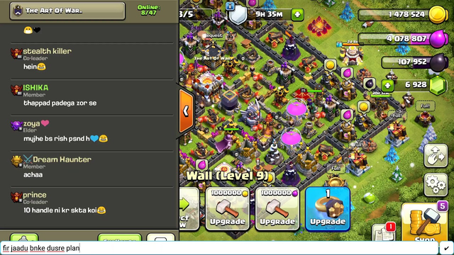 clash of clans new friends
