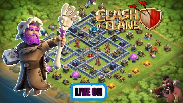 CLASH OF CLANS::TARDE DE FARM
