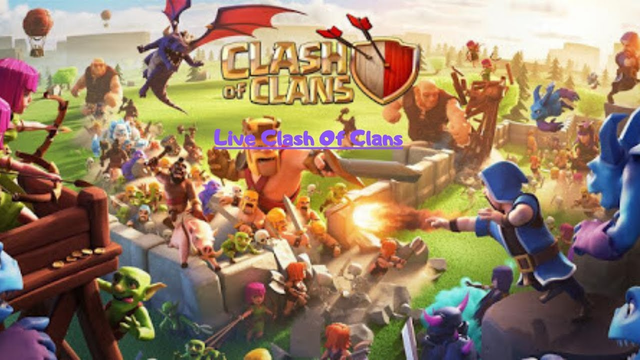 Live Clash Of Clans #1