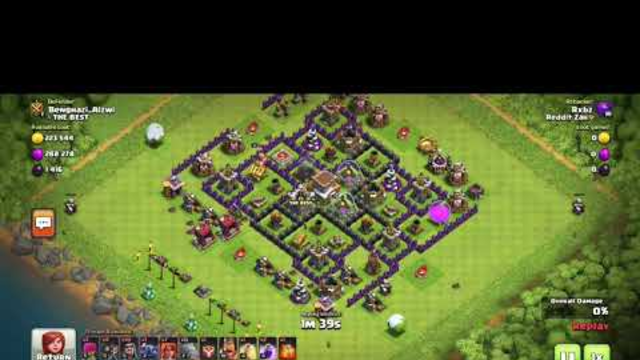 Best TH8 Trophy Pushing Attack Strategy! (Clash Of Clans)