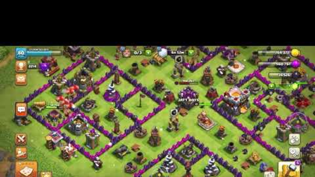 Clash of clans [Maxing out Th11 base] Part one
