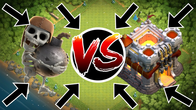 1400 WALLBREAKERS VS TOWN HALL 11!   Clash Of Clans