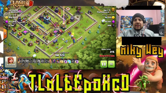 DIRECTO Clash of clans TH11.