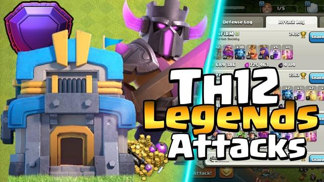 Legend League and Farming/ Clash of Clans