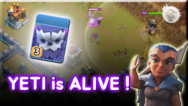Yeti + Siege Barracks + Warden Yeti is Alive! TH13 Attack Strategy Clash of Clans