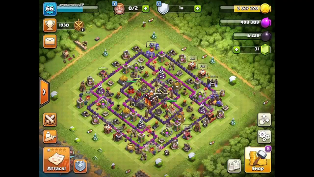 We got it (rune of builder elixir) and rushing to Th 11  clash of clans   shockpok
