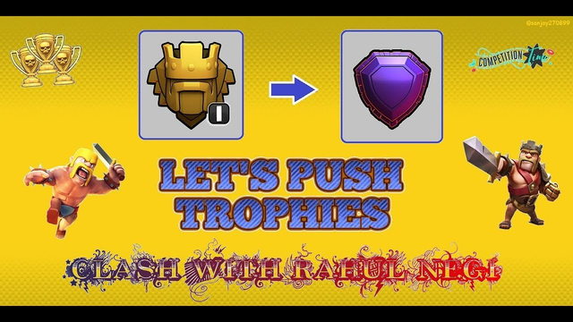 LIVE PUSHING#CLASHOFCLANS#LIVE# |NO PROMOTION