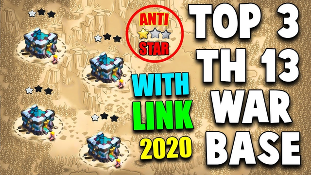 TOP 3 TH13 WAR BASE 2020 WITH *COPY LINK* | Best Town Hall 13 War Base | Clash of Clans