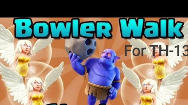 Clash of clans - Bowler healer strategy for Win war Base Best attack gameplay