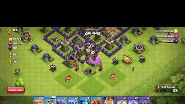 Best troop for clash of clans town hall 8