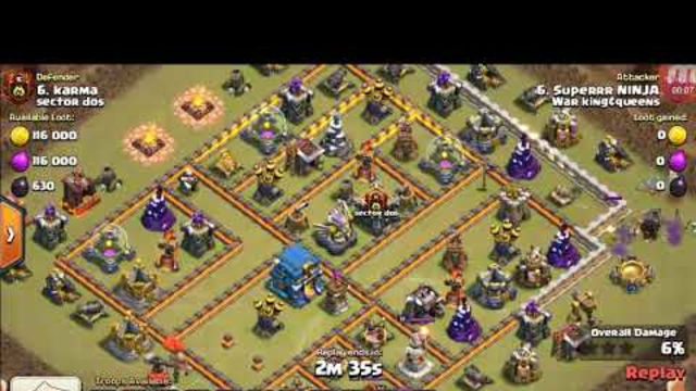 Kismat also works in attacking | CLASH OF CLANS