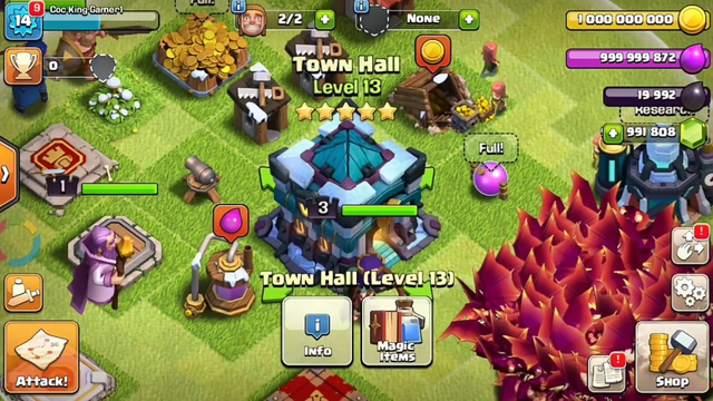 Th13 Clash Of Clans Latest Version APK Mod Download (100% working) gameplay || Coc